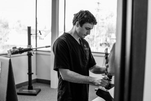 Mobility Prosthetics Certified Prosthetist Tanner Jennings